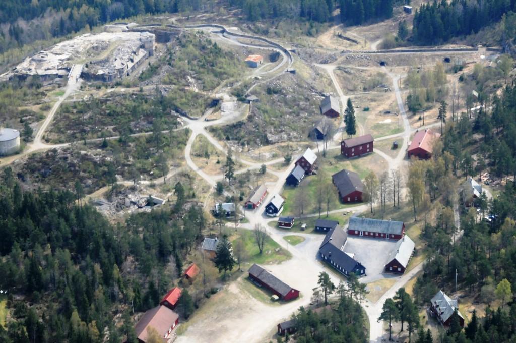18 Høytorp Fort Flyfoto
