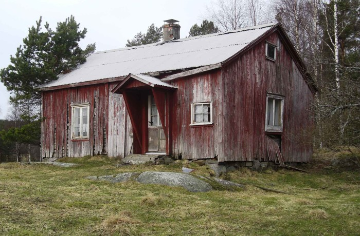 37. Halterikhytta, Mosen, Hærland